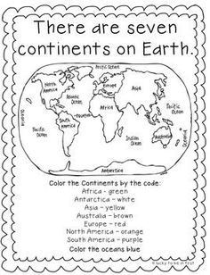 Geography worksheets teach kids about maps, location, and history. Use these geography worksheets with your child to travel without ever leaving your house. Social Studies Worksheets, 3rd Grade Social Studies, 2nd Grade Worksheets, Social Studies Activities, Teaching Social Studies, Kindergarten Worksheets, In Kindergarten, Third Grade Science, Social Studies Projects