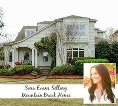 Singer Sara Evans Selling Alabama House   hookedonhouses.net