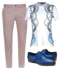 """Men"" by rossella-castaldo on Polyvore featuring Dolce&Gabbana, Just Cavalli, men's fashion and menswear"