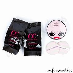 It Radiant CC Cover Cushion x Iphora - Pink Stripe Case Make Up Remover, Pink Stripes, The Balm, Cushion, Skin Care, Cosmetics, Cover, Face, Collection