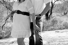 Cowboy pregnancy shoot