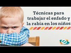 Técnicas para trabajar la rabia en los niños y niñas
