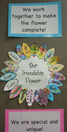 A Friendship Flower-