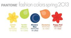 Perfect Bridesmaids Dresses in Pantone's 2013 Spring Fashion Colours