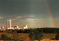 Rainbow over Amarillo, TX