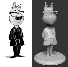 A Figurine 3D-Printed in Gray Resin: Meet Father Perkins | #3DPrinting