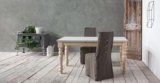 CLASSIC di SEDIT ricorda un po' i vecchi tavoli da cucina delle nonne, con le gambe tornite di legno grezzo. #arredamento #tavoli #legno #interiordesign #vintage #shabby