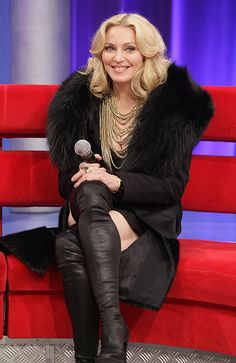 Madonna voted PETA's Worst Dressed Celebrity of 2009 based on her penchant for wearing fur.