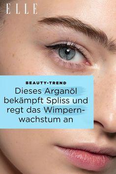 Tipp für schöne Haare: Dieses Arganöl bekämpft Spliss und regt das Wimpernwachstum an In Marokko gilt Arganöl bereits seit Jahrhunderten als flüssiges Gold für  Haut und Haare – zurecht! Schließlich ist das Öl ein wahres Multitalent  in Sachen Beauty. #arganöl #haare #wimpern #wimpernwachstum #spliss #gesundehaare #beauty #kosmetik #ellegermany Flüssiges Gold, Beste Mascara, Beauty Trends, Tricks, Anti Aging, Up, Skincare, La Mode, Argan Oil Hair