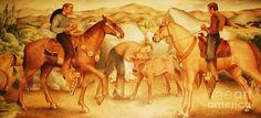 Alta California Rancheros painting - Google Search
