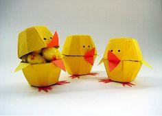 Make Sweet Up-cycled Egg Carton Chicks