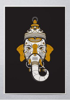 GVNSH | Theme - The Times   | Artist - Karan Singh  ||  A4 ₹2,000 / A3 ₹3,000 / A2 ₹4,000 ||  ☏ (+91) 22 26550982 ||  Description -  India's ancient romance with Ganesh remains ever flourishing. New York based artist Karan Singh recalibrates the devotion for modern times.  ||  #ThisIsArt  ● #ArtOfOurTimes  ● Own it & #SupportTheArtist