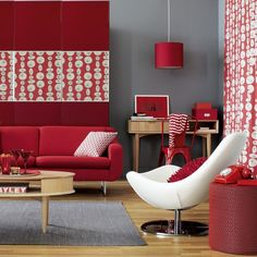 Decorating With Red 25 Beautiful Interior Design Pictures