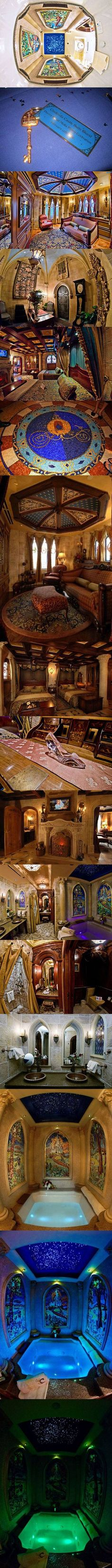 This is what's really inside Cinderella's Castle at Walt Disney World. As a kid I always dreamed of staying in here