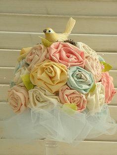 DEAR MS. LEIGH: INSPIRATION: Ribbon roses