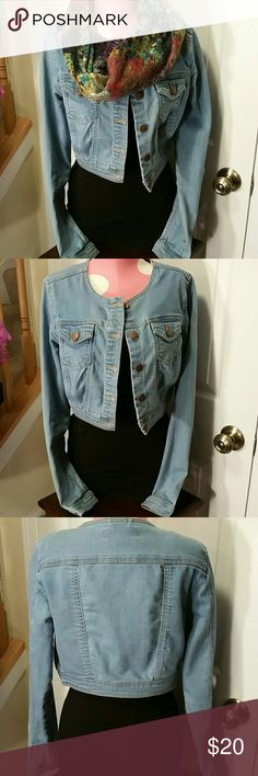 ■ XXI Premium Denim Cropped Jacket Great condition XXI Jackets & Coats Jean Jackets