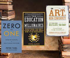 Gewinne 15 Bücher, die dein Leben verändern!  Tolles Gewinnspiel für alle Lebensveränderer, Individualisten, Weltenretter und digitale Nomaden! - Sehr spannende Bücher darunter. Das ein oder andere habe ich bereits selbst schon gelesen und kann es auch nur wärmstens empfehlen!