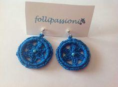 "Follipassioni tutorial crochet orecchini ""Elise"""