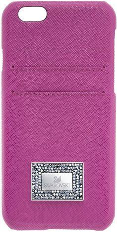 Swarovski Versatile Smartphone Case with Bumper, iPhone® 6 Plus / 6s Plus, Pink