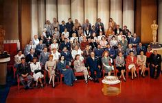 1st Row: James Stewart, Margaret Sullivan, Lucille Ball, HedyLamarr, Katharine Hepburn, Louis B Mayer, Greer Garson, Irene Dunne,Susan Peters, Ginny Simms, Lionel Barrymore2nd Row: Harry James, Brian Donlevy, Red Skelton, Mickey Rooney,William Powell, Wallace Beery, Spencer Tracy, Walter Pidgeon, RobertTaylor, Pierre Aumont, Lewis Stone, Gene Kelly, Jackie Jenkins3rd Row: Tommy Dorsey, George Murphy, Jean Rogers, James Craig,Donna Reed, Van Johnson, Fay Bainter, Marsha Hunt, Ruth…