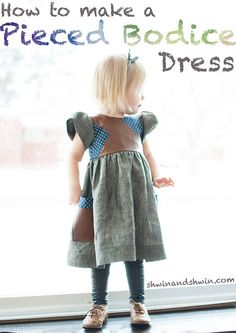 Tutorial for a pieced bodice dress!