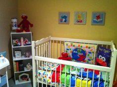 Sesame street baby kids bedrooms playrooms kids room future elmo
