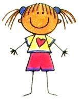 Cositas Mías: Muñecos Palitos. Art Drawings For Kids, Drawing For Kids, Cartoon Drawings, Easy Drawings, Art For Kids, Simple Cartoon, Cartoon Kids, Stone Painting, Painting & Drawing