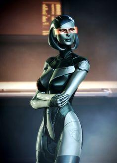 EDI - Mass Effect - AI