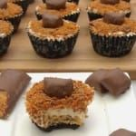 I feel I'm not alone when I say that cheesecake is hands down my favorite dessert. Rich, decadent, and fluffy to the touch, cheesecake is simply a classic treat —especially when paired withother classics, like crunchy and delicious Butterfinger bars! In an exclusive recipe below, we share a great recipe for Butterfinger cheesecakes that are...