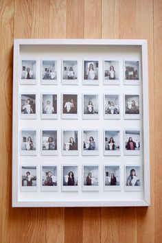 diy instax photo gallery frame - One Brass Fox diy instax photo gallery frame - One Brass Fox - One Brass Fox // Powered by chloédigital Instax Wall, Instax Frame, Polaroid Pictures Display, Polaroid Display, Cute Picture Frames, Picture Frame Crafts, Photo Frame Ideas, Mini Photo Frames, Polaroid Foto