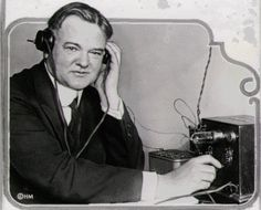 Herbert Hoover and the early days of radio