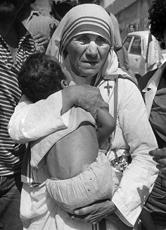 """The woman is the heart of the home. Let us pray that we women realize the reason of our existence to love and be loved and through this love become instruments of peace in the world."" -- Mother Teresa"
