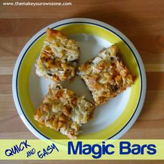 Quick and easy recipe for Magic Bars - Make magic bars using your own homemade sweetened condensed milk!