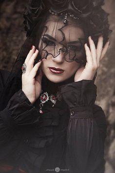 Model, MUA: Fräulein Kafka (Alternative Fashion Model) Photo: Mittagsfoto Jewelry: Aeternum Nocturne Gothic jewelry Welcome to Gothic and Amazing |www.gothicandamazing.org