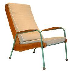 Jean Prouve Visiteur Lounge Chair , France 1942
