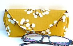 Reading Eyeglass or Sunglass Case Magnetic by nangatesdesigns, $12.00