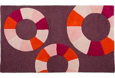 Color Swirl Rug, 3 x 5 on One Kings Lane
