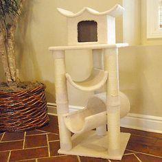 Shorter cat house