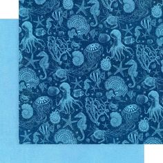 8 Sheets Graphic 45 Ocean Blue 12x12 Patterns & Solids Paper | Etsy Beach Scrapbook Layouts, Scrapbook Paper Crafts, Scrapbook Pages, Mixed Media Scrapbooking, Graphic 45, Home Decor Wall Art, Paper Design, Sticker Paper, Card Making