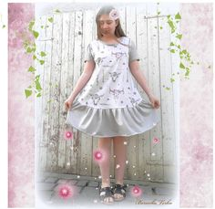 Short Sleeve Dresses, Dresses With Sleeves, Harajuku, Summer Dresses, Style, Fashion, Summer Sundresses, Moda, Sleeve Dresses
