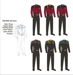 New Starfleet Uniform 69