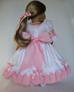 American Girl Doll ClothesClara DressNutcracker by MyAngieGirl