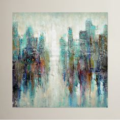 Found it at AllModern - Reflection Painting Print on Wrapped Canvas