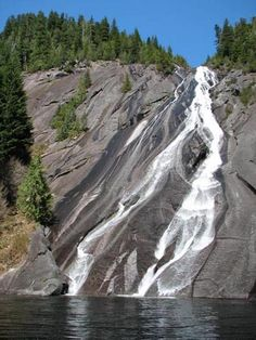 Otter and Big Creek Falls