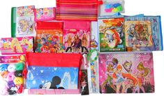 £9.99 - Brand New Job Lot Girls Bag Fillers Puzzles Disney B-Day Party Tote Bag Gift Box - http://www.ebay.co.uk/itm/-/282093373076?