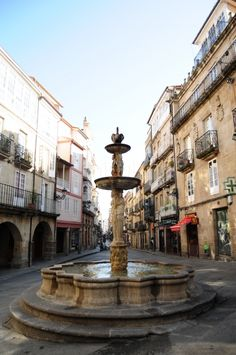 Plaza do Ferro - Ourense Places To Travel, Places To Visit, Basque Country, Balearic Islands, Plaza, Street View, City, Europe, Winter