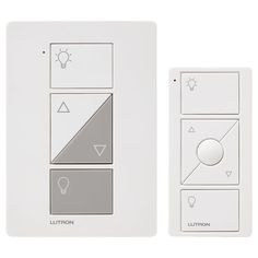 Lutron Caseta Wireless 0.83 Amp 100-Watt White 3-Way Compatible Cfl/Led Compatible Wireless Digital Dimmer Remote Control Included