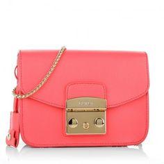 Furla Tasche – Metropolis Mini Crossbody Pinky Fluo – in pink – Umhängetasche für Damen