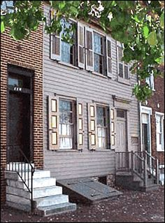 Camden NJ, is home to the historic Walt Whitman House, where Whitman lived from 1884 until his death in 1892. #Camden