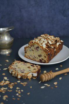 Cake aux Fruits Secs et Miel - Safran Gourmand